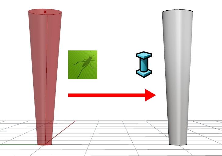 Tutorial paso a paso para crear un objeto de VisualARQ a partir de una definición de Grasshopper