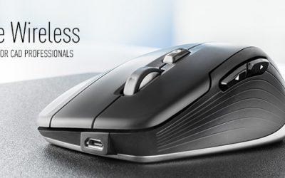 Nuevo CadMouse Wireless, el ratón inalámbrico para profesionales de CAD