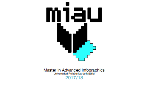 VisualARQ at MIAU, Master's degree in Advanced Infographics at ETSAM, Madrid.