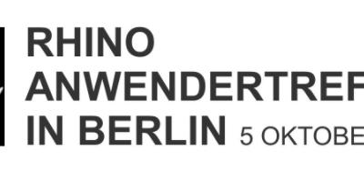Rhino and Grasshopper user meeting in Berlin
