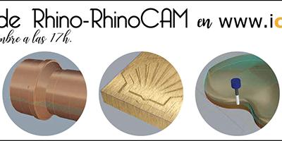 Webinar Rhino y RhinoCAM 28 de Septiembre