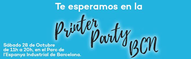 3D Printer Party Barcelona