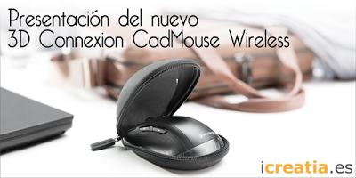Presentación: 3D Connexion CadMouse Wireless
