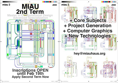 MiAU 2nd Term – Master in Computational Design at UPM Madrid