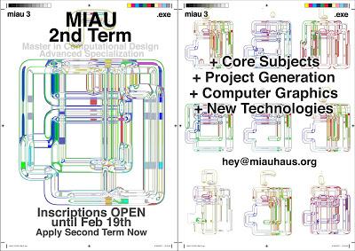 MiAU 2nd Term – Master in Computational Design at UPM Madrid