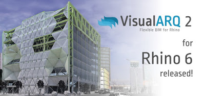 VisualARQ 2 ya está disponible para Rhino 6