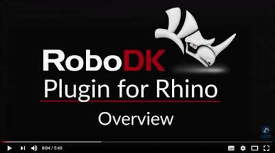 RoboDK, programación de robots en Rhino y Grasshopper