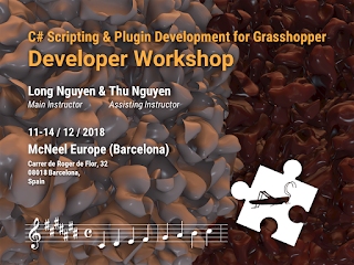 Developer Workshop and 1:1 Developer Sessions- Dec 11-14 at McNeel Europe (Barcelona)