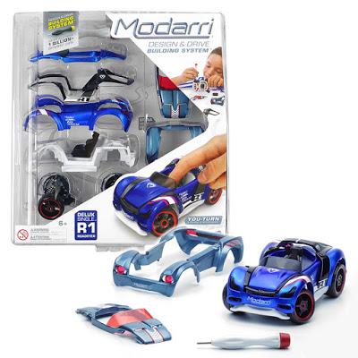 Diseño de coches de juguete