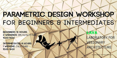 Parametric Design Workshops in February 2019