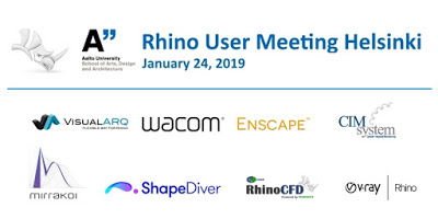 Rhino User Meeting Helsinki – 24th January 2019