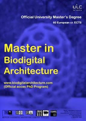 UIC Barcelona Master´s Degree in Biodigital Architecture