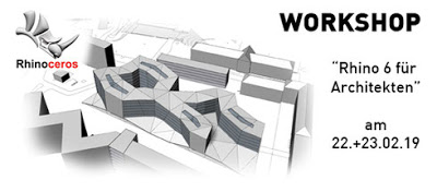 Rhino 6 für Architekten – Wien