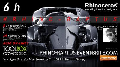 #RHINO-RAPTUS Workshop by Luigi Memola