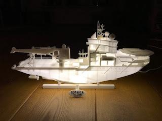 Botnica Vessel as a Luminous 3D Print