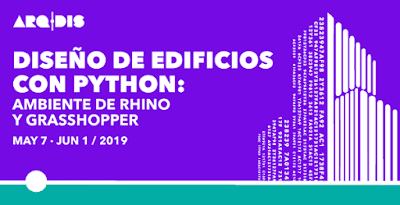 Construction of Buildings with Python + Rhino and Grasshopper Workshop