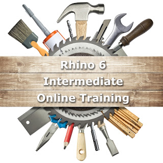 Rhino 6 Intermediate Online Workshop in Spanish
