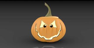 """""""Happy Halloween"""" Modeling in Rhino"""