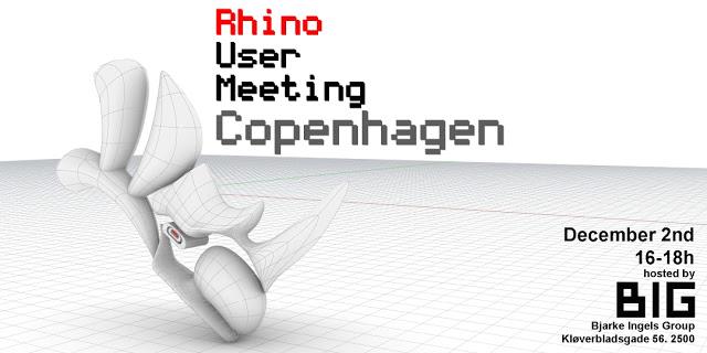 Rhino User Meeting Copenhagen 2019
