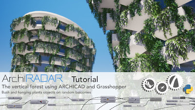 Vertical gardens in ARCHICAD with Grasshopper