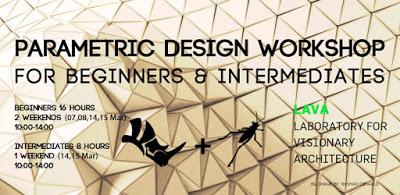 Parametric Design Workshop in Berlin (March 2020)
