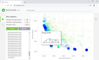 Nueva versión de Discover, herramienta de optimización para Grasshopper