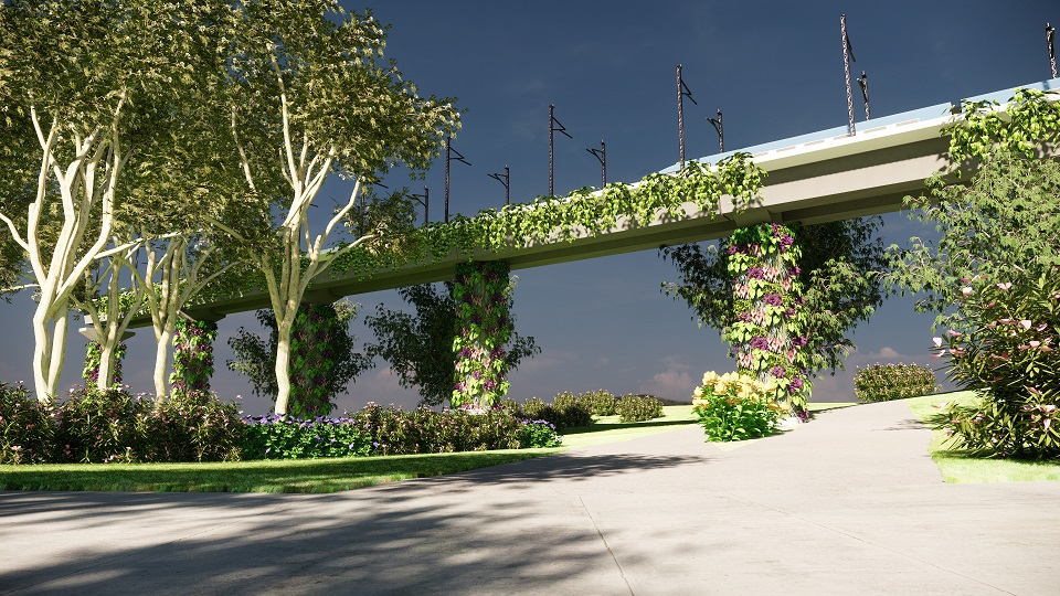 ¿Cómo se crea un jardín vertical con Lands Design?