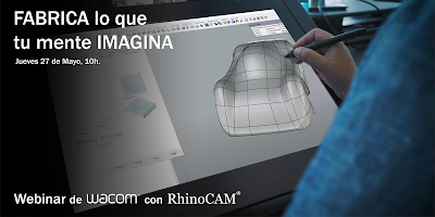 Webinar: Wacom + RhinoCAM – 27 de mayo, 2021