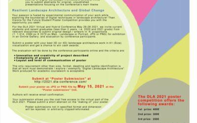 Digital Landscape Architecture Conference DLA 2021