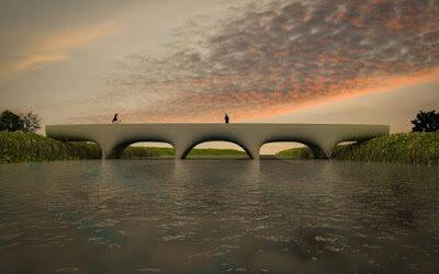 The world´s largest 3D printed concrete bridge