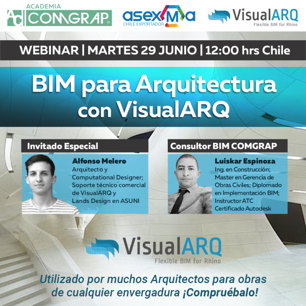 Webinar: BIM for architecture with VisualARQ
