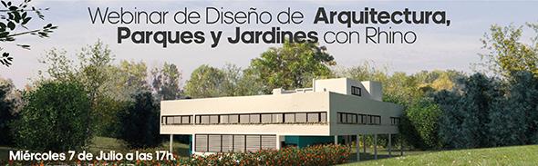 Webinar of VisualARQ and Lands Design (Spanish)