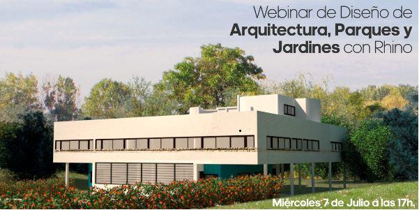 Webinar: Diseño de Arquitectura, Parques y Jardines con Rhino