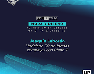 OPEN DC – 3D Modeling Complex Shapes with Rhino 7 Workshop (Spanish)