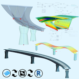 Parametric bridge design online workshop using SOFiSTiK in Grasshopper, Nov 24–26, McNeel Europe