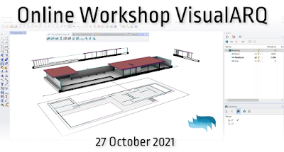 Getting started with VisualARQ – free workshop (October 27, 2021)
