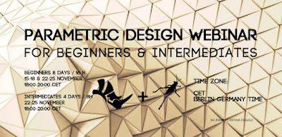 Parametric Design WEBINAR (Rhino + Grasshopper)